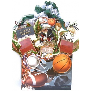 Nuts About Sports Gift Basket -