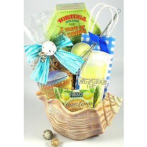 Seashells By The Seashore Gift Basket -