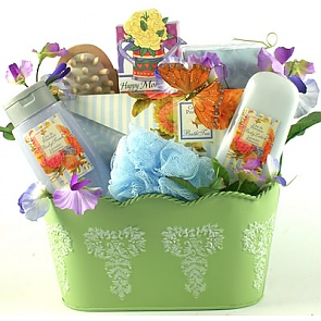 Spa Therapy Gift Basket For Women - Spa Gift Baskets for Women