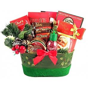 Holiday Surprise Gift Basket -