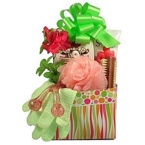 Pretty and Pampered Gift Basket For Her - Spa Gift Baskets for Women