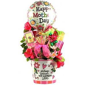 A Mother's Heart, Mother's Day Gift Arrangement -