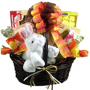 Bunny Business Easter Basket - Send Easter baskets online