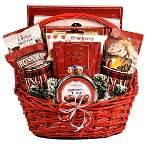 The Sweet Life Holiday Gift Basket - The Sweet Life Holiday Gift Basket #ChristmasGiftBasket