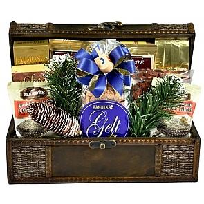 A Celebration of Hanukkah Gift Basket (Small) - Hanukkah Gift Baskets - Chanukah Gifts #HanukkahGiftBasket