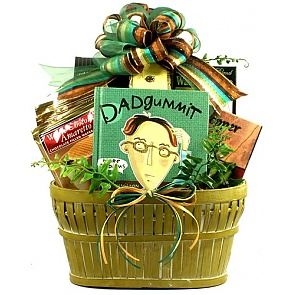Dadgummit! Father's Day Gift Basket for Dad -