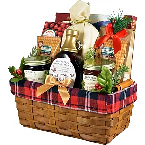 Down Home Breakfast Holiday Gift Basket