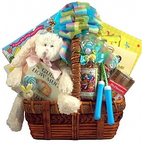 Deluxe Easter Activity Basket - Send kids Easter baskets online