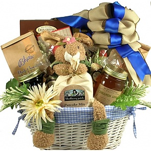 Easter Morning Breakfast Basket - Send Easter baskets online