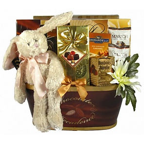 Easter Decadence Chocolate Gift Basket -