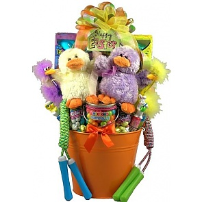Easter Party Pail, Easter Basket For One Or More Kids - Send kids Easter baskets online