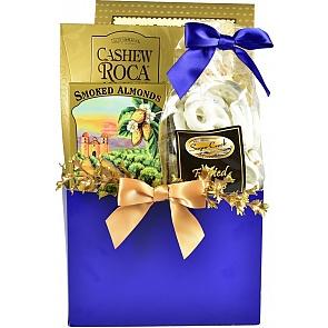 Elegant Gourmet Hanukkah Gift Basket (Small) - Elegant Gourmet Hanukkah Gift Basket (Small) #HanukkahGiftBasket