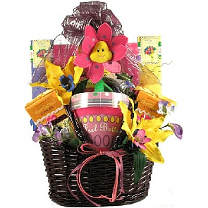 Feel Better Soon Get Well Basket -
