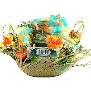5 O'Clock Somewhere Gift Basket -