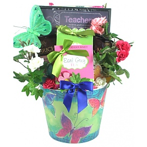 Giving Me Wings To Fly -Teacher Gift Basket - Giving Me Wings To Fly -Teacher Gift Basket