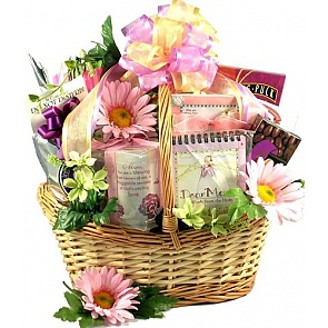 For Mom with Love - Mother's Day Gift Basket -