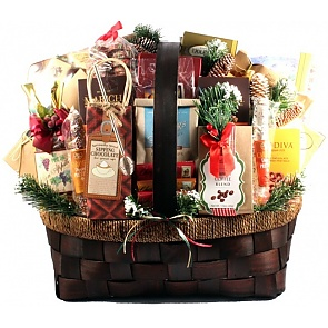 The Grandest Of Them All Deluxe Holiday Gift Basket (Deluxe) - The Grandest Of Them All Deluxe Holiday Gift Basket (Deluxe) #ChristmasGiftBasket