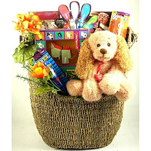 Grins and Giggles Kids Gift Basket - Send kids gift baskets - #KidsGiftBaskets