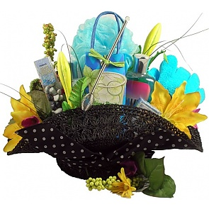 Endless Summer, Gift Basket For Her - Spa Gift Baskets for Women