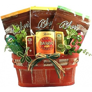 Healthy Living Sugar Free Candy Gift Basket (Large) -