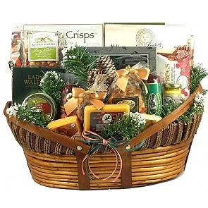 Home For The Holidays, Christmas Gift Basket (XL) -