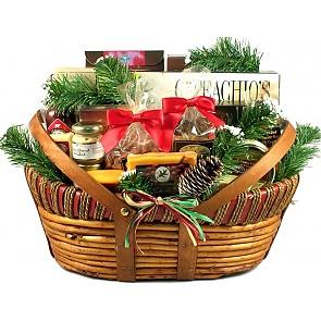 Home For The Holidays, Christmas Gift Basket (Large) -