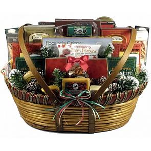 Home For The Holidays, Christmas Gift Basket (XXL) - Home For The Holidays, Christmas Gift Basket (XXL) - #ChristmasGiftBaskets