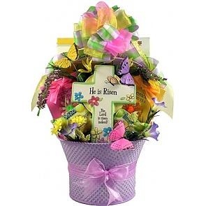 Jesus Lives! Easter Basket - Send Easter baskets online