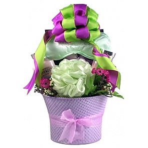 Lavender Fields Spa Gift For Her - Spa Gift Baskets for Women