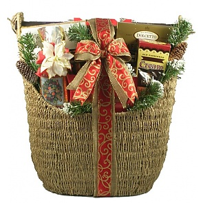 Majestic Christmas Deluxe Holiday Gift Basket (Large) -