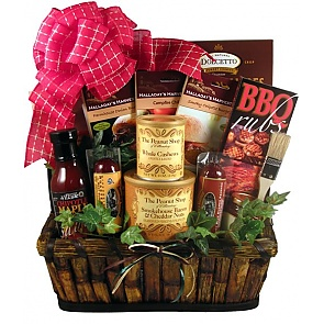 The Grill Master Deluxe Gift Basket -