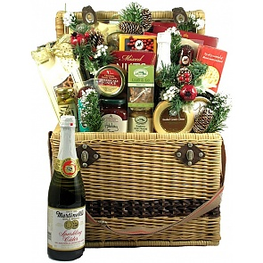 Christmas in Central Park Holiday Gift Basket -