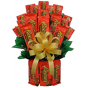 All Reese's Candy Bouquet - Medium - Send Candy Bouquets #ReesesCandyBouquet