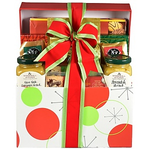Santa's Sampler Holiday Gift (Large) - Santa's Sampler Holiday Gift (Large) #HolidayGiftBasket #ChristmasGiftBasket