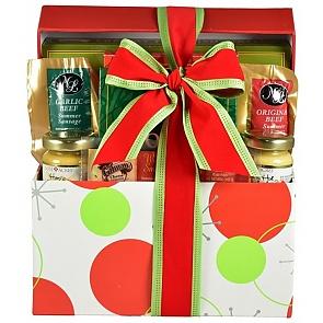 Santa's Sampler Holiday Gift (Medium) - Santa's Sampler Holiday Gift (Medium) #HolidayGiftBasket #ChristmasGiftBasket
