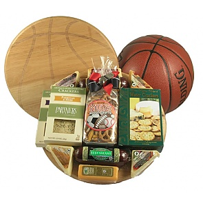 Slam Dunk Basketball Gift Basket -