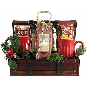 Snuggle Up Christmas Gift Basket -