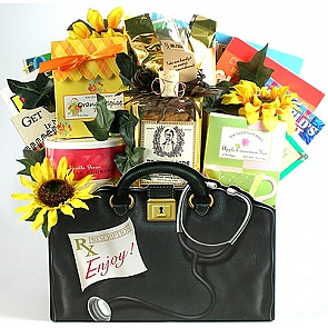 The Village MD The Cure for Boredom Gift Basket -